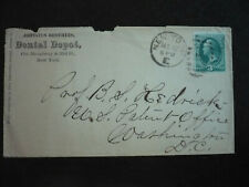 Postal History - USA - Large Banknote Issue Cover - New York to Washington, DC
