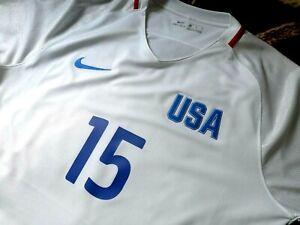 jersey nike Megan Rapinoe (XL) USWNT US Olympic games 2016 USA  shirt soccer