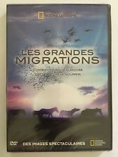 NATIONAL GEOGRAPHIC Les Grandes Migrations DVD NEUF SOUS BLISTER 2 Documentaires