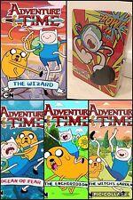 GIFT CASE 4 X BOOKS Adventure Time Finn & Jake kapow Pop Art Tin case with latch