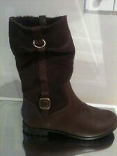 UGG BELLVUE III ANKLE BOOTS IN BROWN SIZE UK 5.5 US 7 RRP £249.99 ** RARE **