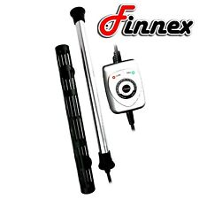 Finnex HMA-50S Titanium Aquarium 50W Heater with Controller and Heat Guard Tank
