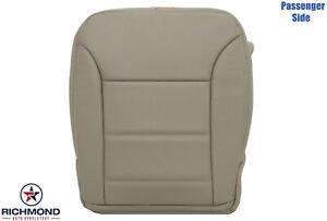 2009-2011 Benz ML320 ML350 ML450- Passenger Side Bottom Leather Seat Cover Tan