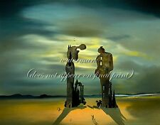 """SALVADOR DALI Painting Poster or Canvas Print """"Reminiscence of Millet's Angelus"""""""