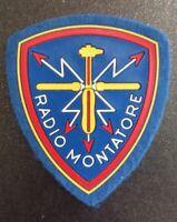 RARA Toppa/Patch/Scudetto  in stoffa Orig. Radiomontatore  Esercito Italiano