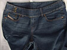 DIESEL JEANS SIZE 31 FAB CONDITION MADE IN ITALY BOOTCUT FANCY FRONT
