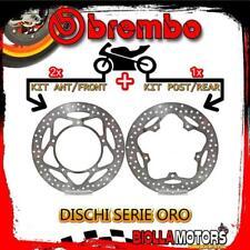 BRDISC-241 KIT DISCHI FRENO BREMBO APRILIA SRV 2012- 850CC [ANTERIORE+POSTERIORE