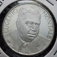 1996  Repubblica Italiana 1000 lire   MONTALE   FONDO SPECCHIO  da divisionale
