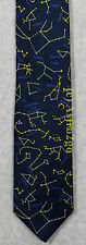 CONSTELLATIONS STARS NIGHT SPACE ASTRONOMY SCIENCE Josh Bach Silk Necktie NEW!