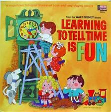 Disney - Learning To Tell Time Is Fun LP Mint- ST 3959 Vinyl 1969 Record