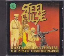 STEEL PULSE - rastafari centennial live in paris CD