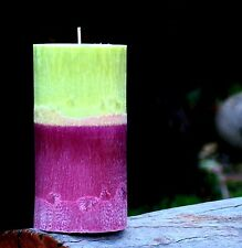 200hr RUBY RED GRAPEFRUIT & BLACKBERRY Strong & Tart Scented Kitchen ART CANDLE