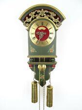 Dutch Warmink Vintage Hindeloopen Repair 8 day Wall Clock (Wuba Friesian era)