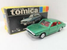 C Tomy Tomica 10 -2-1 1E OLD WHEEL ISUZU 117 COUPE 1800XE  (JAPAN)