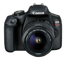 Canon EOS Rebel T7 24.1 MP Digital SLR-Negra (Kit con lente 18-55) NUEVO
