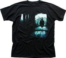 Totoro Happiness Magic Forest Mononoke Spirits My Neighbour black t-shirt TC9435