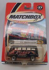 Matchbox VW Transporter Die Cast Speedy Delivery Richies Pizza Van MOC