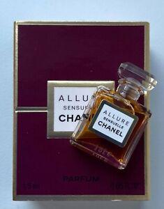Chanel ALLURE SENSUELLE PARFUM 1,5 ML 0.05 FL OZ micro miniature VIP GIFT