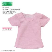 AZONE PureNeemo Sahras a la mode Simple T-shirt Pink Blythe Momoko Doll Pullip