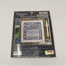 Teresa Wentzler Cross Stitch Kit Noahs Ark Sampler