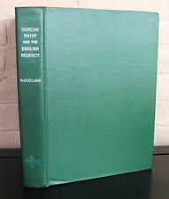 Duncan Phyfe and The English Regency. by Nancy McClelland - 1939 1st.