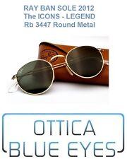Occhiali da Sole RAYBAN Round Metal RB 3447 Ray Ban Legend New Tondi Sunglasses