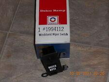 1971-1972 Chevrolet Impala NOS oem windshield wiper switch 1994112