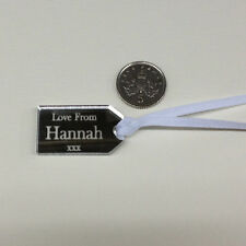 Personalised Christmas Gift Tags Wedding Travel Destination Place Names Favours