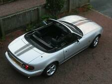 Mazda MX5 bonnet & boot stripes decals MX5 Roadster Miata  will also fit other.