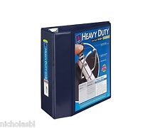"NEW 5"" Avery Heavy Duty View Binder OneTouch EZD 3 Rings 1050 sheets + 2 Boxtop"