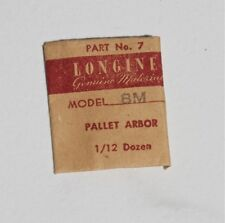 Nos Swiss Longines vintage watch part Vintage Longines 8M watch pallet arbor