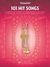 101 Hit Songs for Trumpet Instrumental Folio Book New 000197185