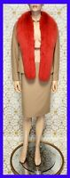 90-S VINTAGE GIANNI VERSACE COUTURE BEIGE SKIRT SUIT WITH CORALS 38 - 2