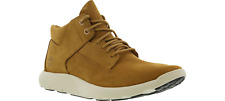 męskie Timberland Flyroam Mid Chukka Tan Nubuck Leather Men Boot uk 7.5 Eu 41.5