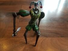 "Capcom Devil May Cry Green MARIONETTE Jester 6"" Video Game Action Figure! 2001"