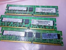 Lot of 3 Hynix 1Gb PC2-5300E DDR2-667 DIMM HYMP512U72CP8-Y5