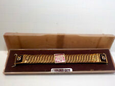 Vintage SHRINERS Golden Gem Watch band w/ box