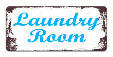 Laundry Room - Vintage Metal Door Sign | Laundry Room Decor