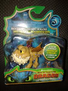 How To Train Your Dragon Colour Change Mini Dragons Meatlug Figure Hidden World