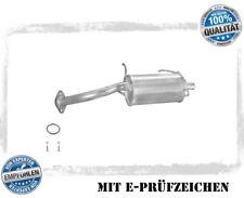 Auspuff Nissan Micra 1.0//1.3 Mittel//End Komplettanlage ab Kat+MONTAGEWARE