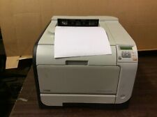 HP COLOR LASERJET CP2025 WORKGROUP PRINTER,Used, 27K pages printed, tested/works