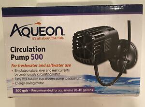 Aqueon Circulation Pump 500 GPH for Aquariums 20-40 Gallons 100534243