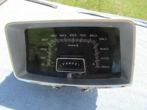 1966 Plymouth Fury Speedometer Instrument Dash Cluster