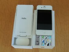 Apple iPhone 4s - 8GB - White Unlocked - Boxed - Model MF266B/A - Excellent
