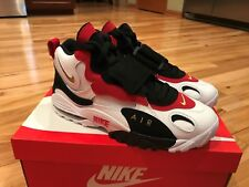 Nike Air Max Speed Turf 49ers White Black Red Diamond 525225-101 Men's Size 14