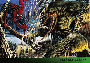 MAN-THING / Marvel's Spider-Man Fleer Ultra 1995 BASE Trading Card #132