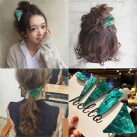 Women Acid Acetic Acrylic Pin Barrette Hair Clips Hairpin  Hair Accessories