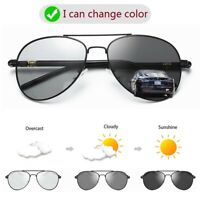 Sunglasses Men Photochromic HD Polarized Driving Glasses outdoor Sun Glasses