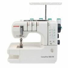 Janome 1000CPX Cover Stitch Sewing Machine 2000cpx Extra WARRANTY