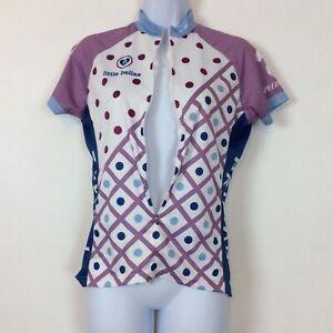 Primal Little Bellas Purple Cycling Shirt Jersey Womens Size Small Sport Cut